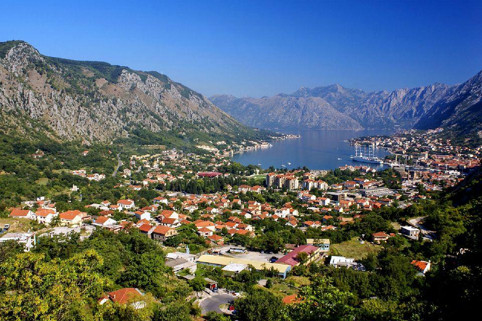 Les bouches de Kotor , Kotor , Monténégro
