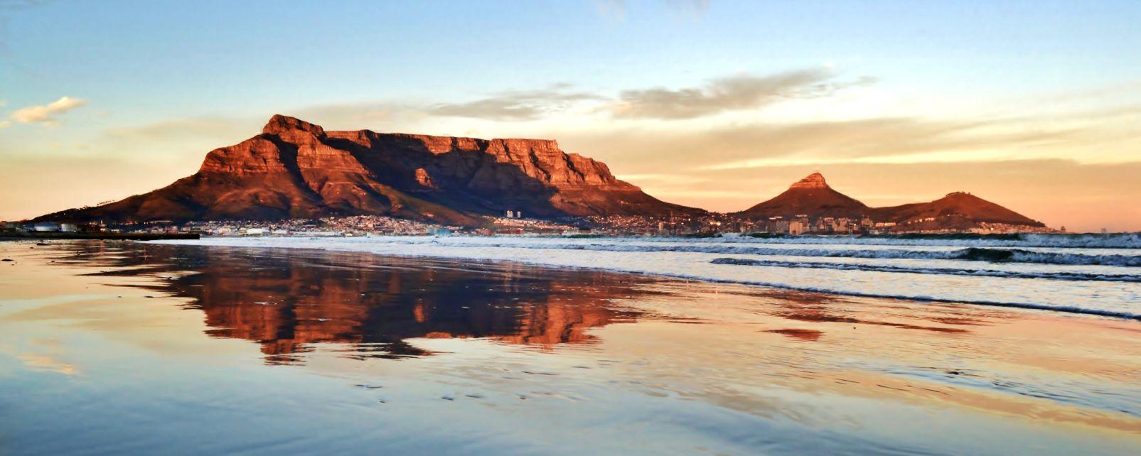 Les paysages, afrique du sud, le pac, table, afrique, côte