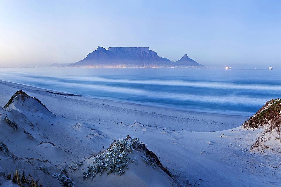 La Montagne de la Table , La montagne du ciel , Afrique du Sud