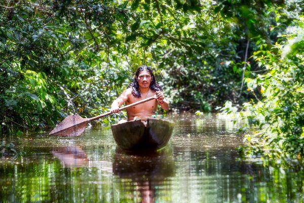 Amazonien , Der Amazonas , Brasilien