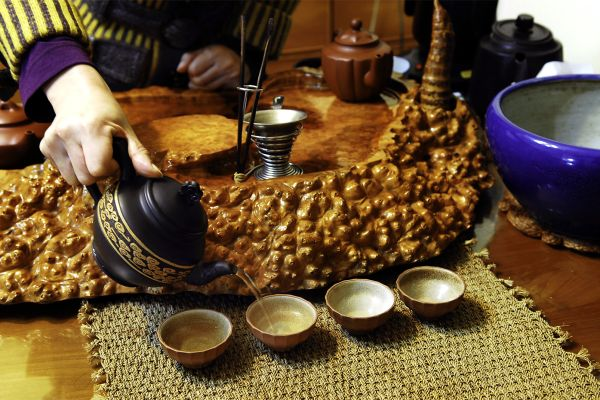 El arte del té, Arte y cultura, Taiwan