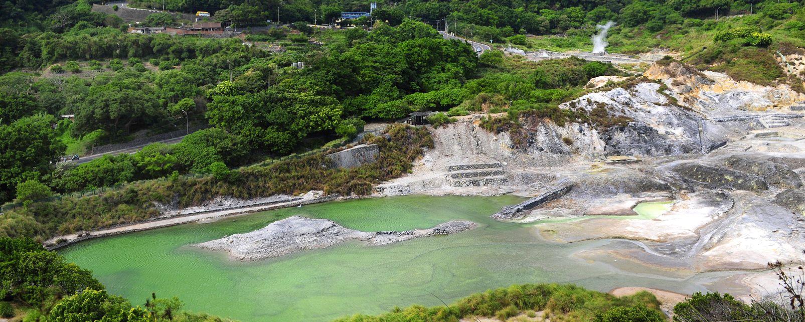 Le sorgenti termali di Beitou et Wulai , Wulai , Taiwan
