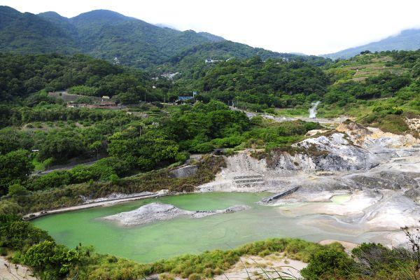 Les sources thermales de Beitou , Taïwan