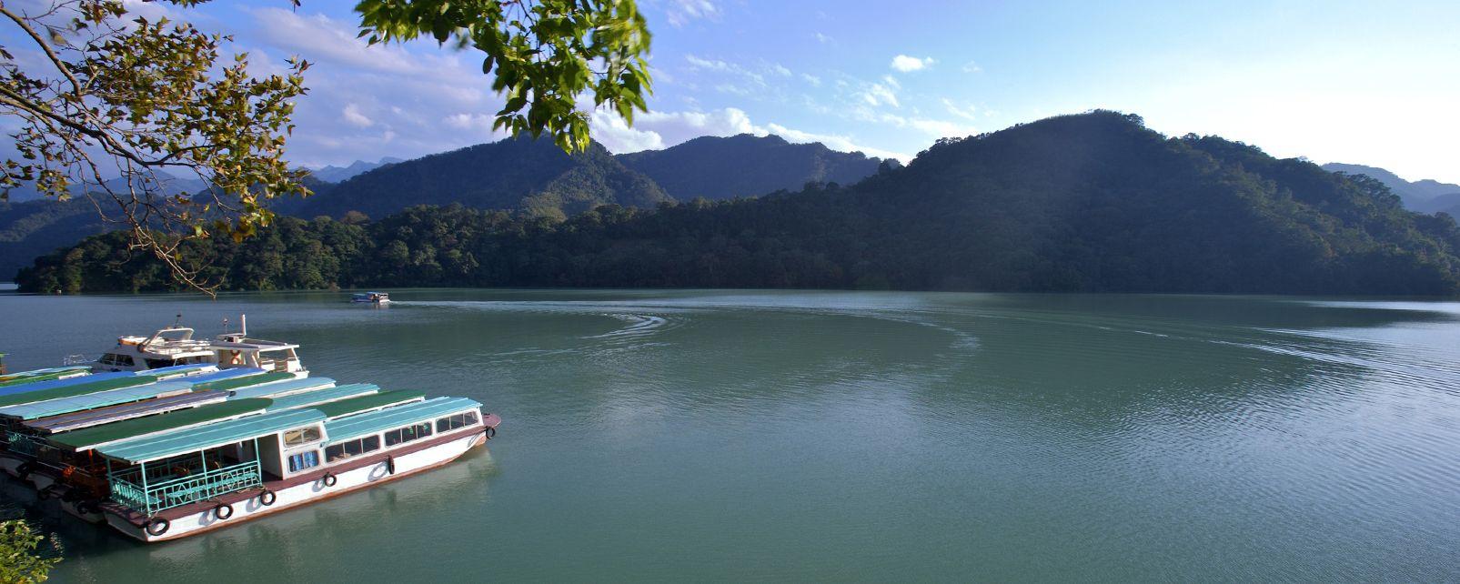 Il lago di Shihmen, Il lago Shihmen, I paesaggi, Taiwan