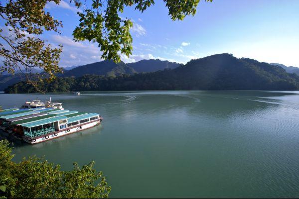 Les paysages, asie chine taiwan lac de shihmen
