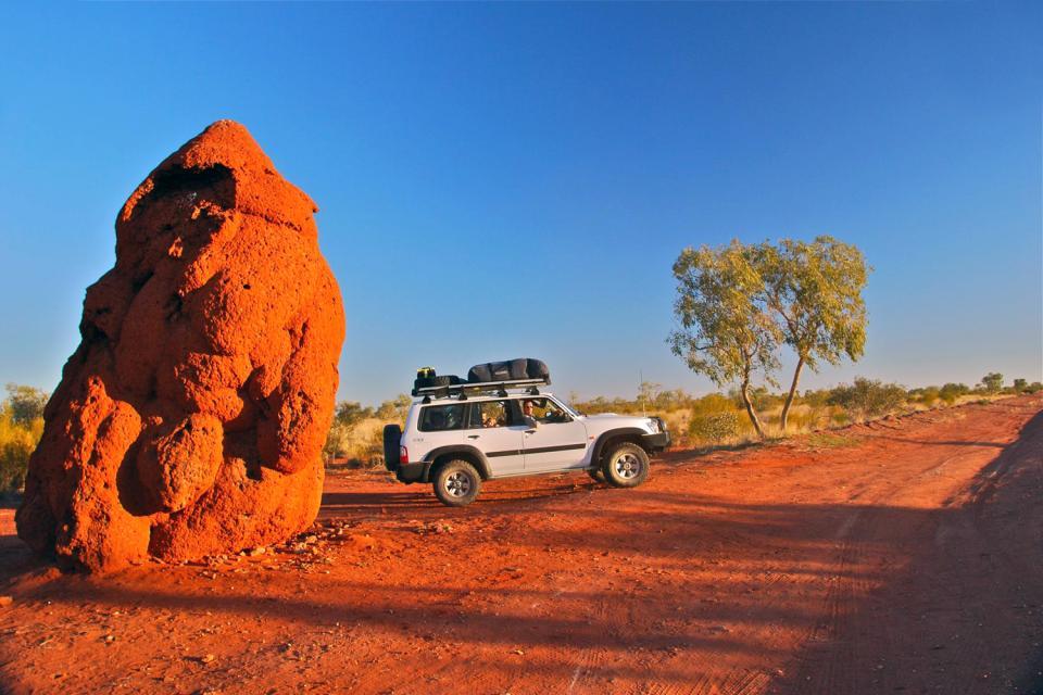 El Parque Nacional de Gawler Ranges , El parque nacional de Gawler Ranges , Australia