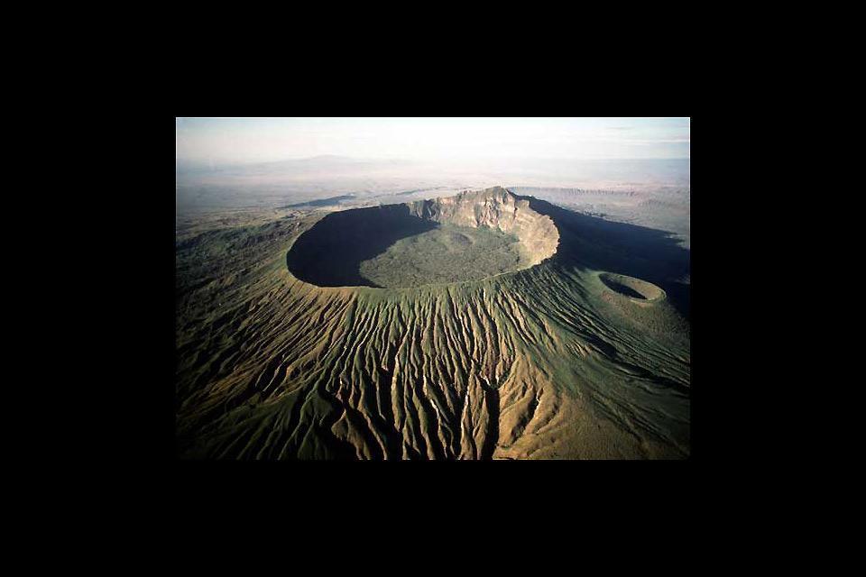 Menengai Crater , Kenya