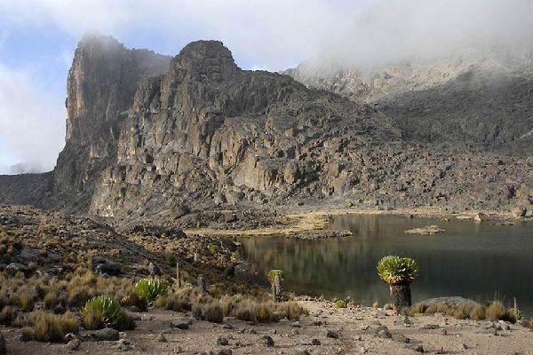 Meru and Samburu Reserves and Mount Kenya National Park , The landscapes of Mount Kenya National Park , Kenya