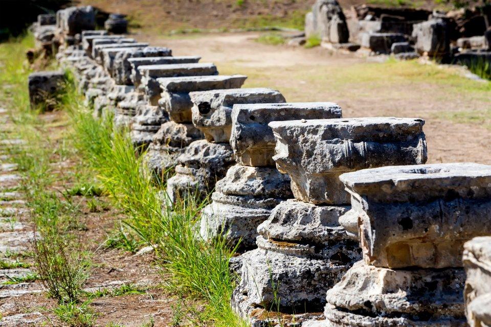 Le berceau de la 7ème merveille du monde, Le site d'Olympie, Les monuments, Péloponnèse