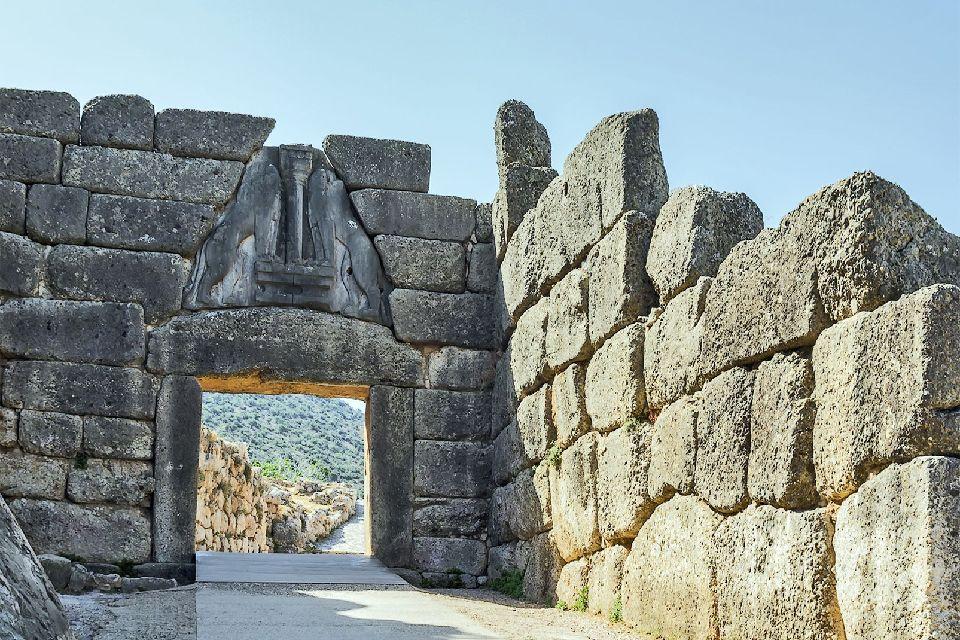 Mycènes , La porte des Lionnes , Grèce