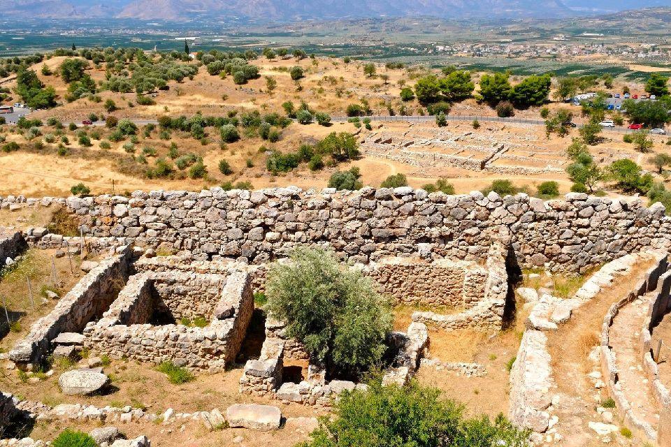 Mycènes , L'origine de Mycènes , Grèce