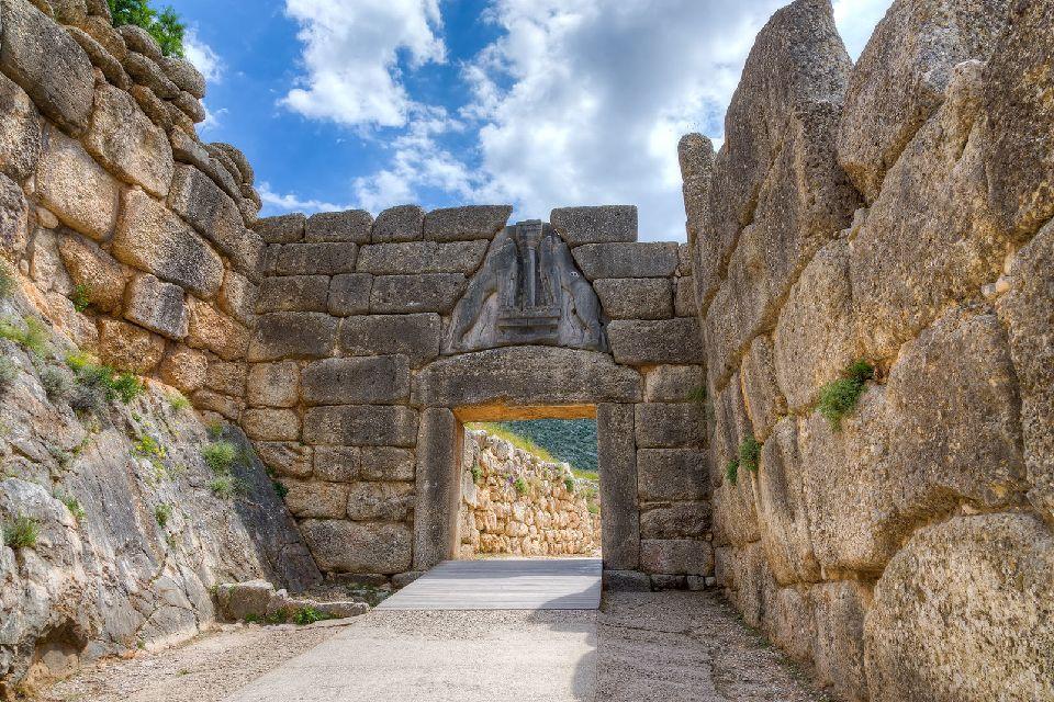 Mycènes , L'enceinte cyclopéenne , Grèce