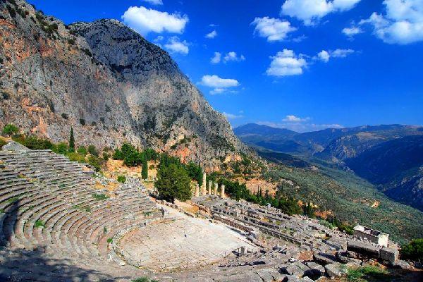 Delphi , The Sanctuary of Apollo , Greece