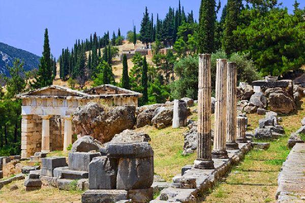 Delphi , The Tholos of Delphi , Greece