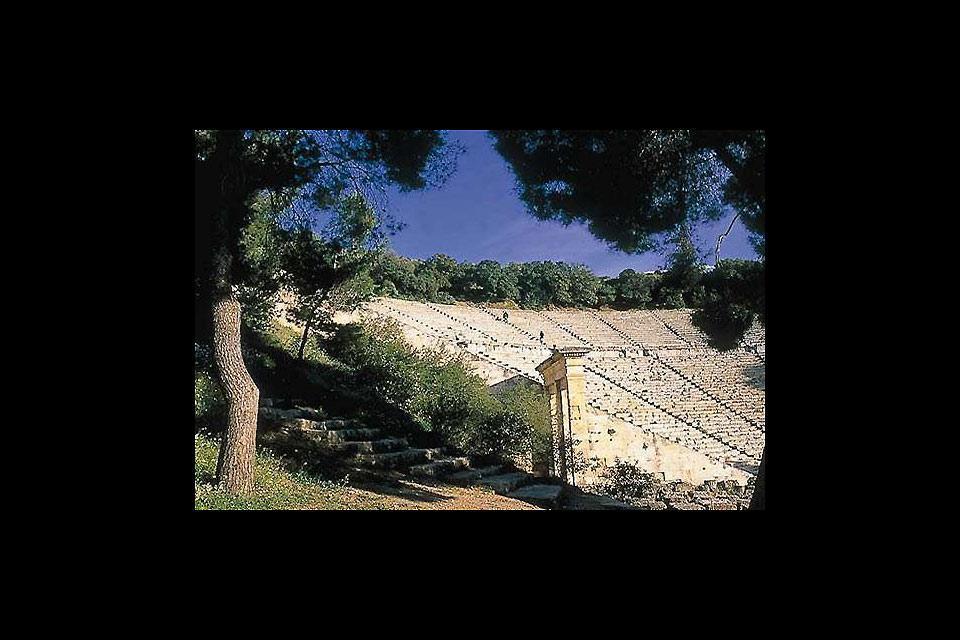 Le théâtre antique d'Epidaure , L'âge du théâtre d'Epidaure , Grèce