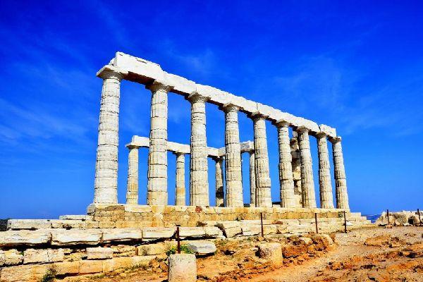 La costa de Apolo , Grecia