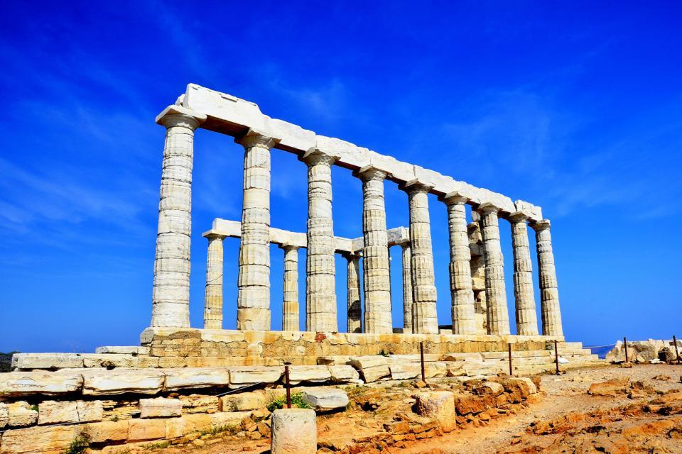 La côte Apollon , Grèce