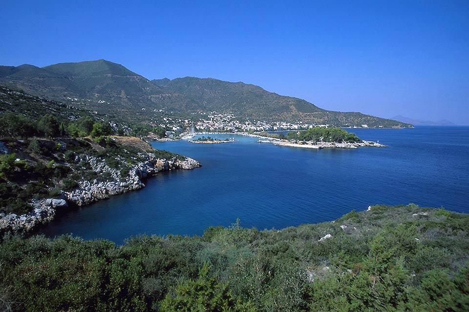 Le littoral du Péloponnèse , Les côtes du Péloponnèse , Grèce