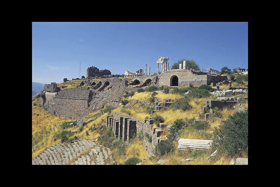 Le littoral du Péloponnèse , Les villes du Péloponnèse , Grèce