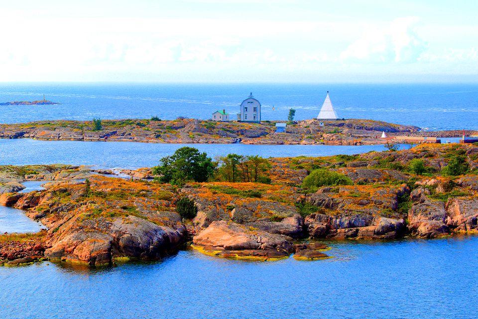 Der Archipel Åland , Finnland