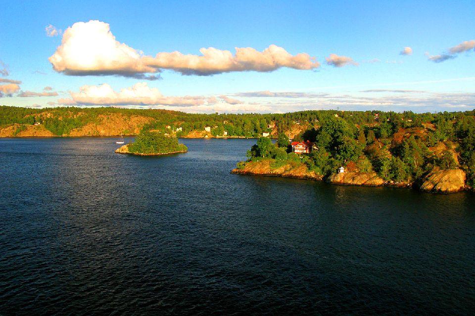 Der Archipel Åland , Blick über das Åland-Archipel , Finnland