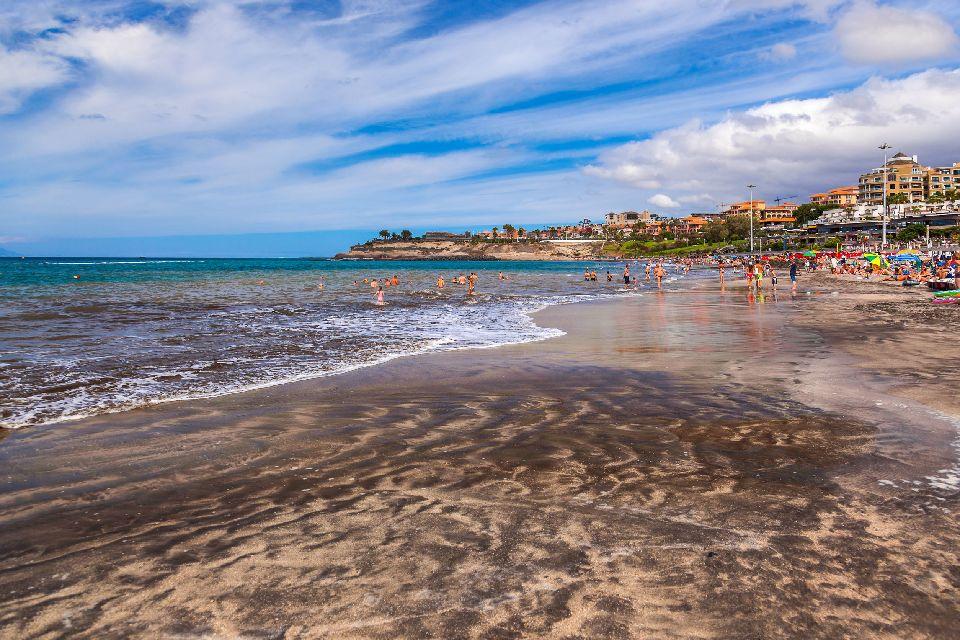 Teneriffa , Los Cristianos , Ein bekannter Badeort , Spanien