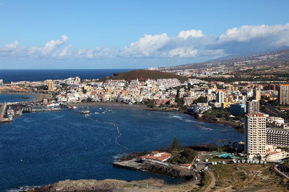 Teneriffa , Los Cristianos , Der Hafen von Los Cristianos , Spanien