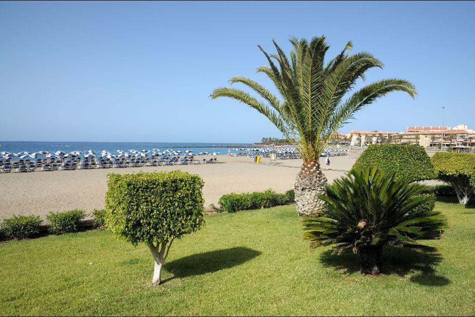 Teneriffa , Los Cristianos , Eine Stadt neben Playa de las Americas , Spanien