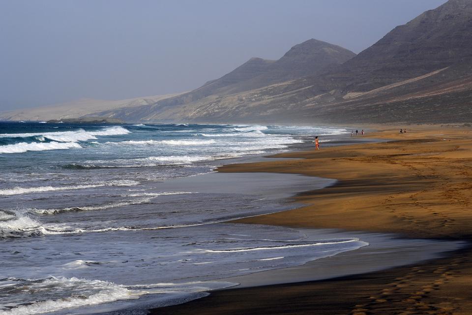 Fuerteventura , Un paysage exotique , Espagne