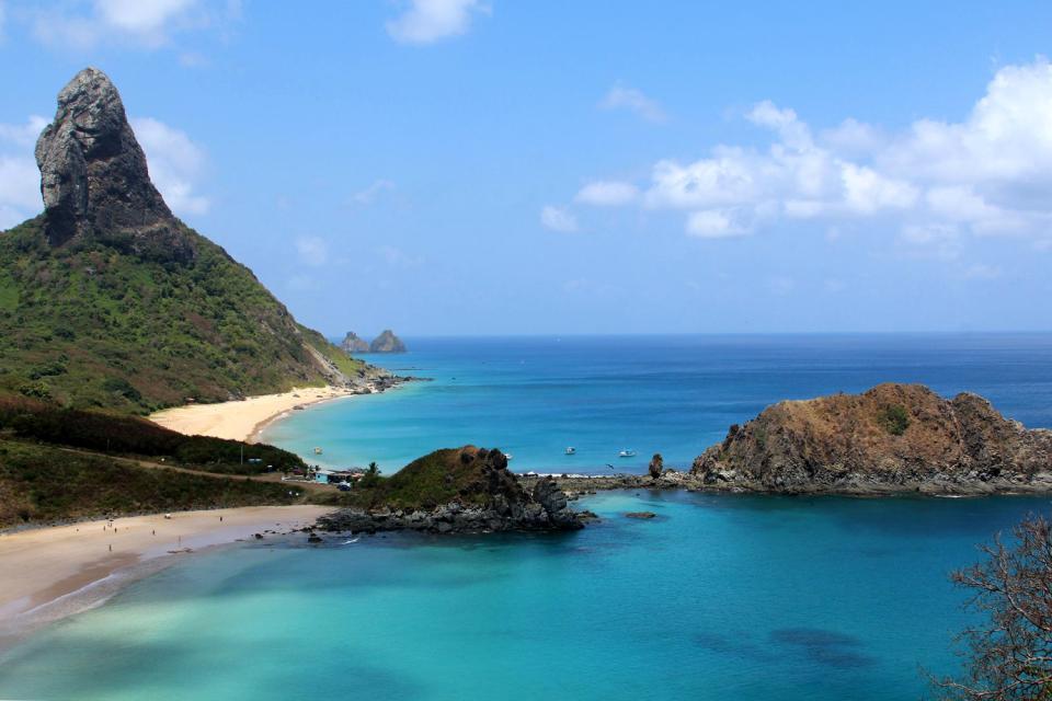 Fernando de Noronha , L'archipel est classé par l'Unesco , Brésil