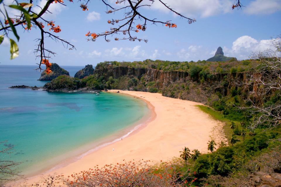Fernando de Noronha , Des plages vierges , Brésil