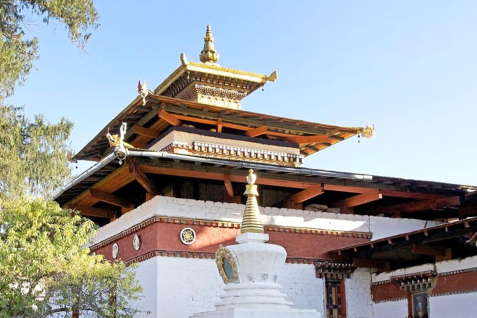 Architecture religieuse, Kyichu Lhakhang, temple, Bhoutan, bouddhisme, religion, asie