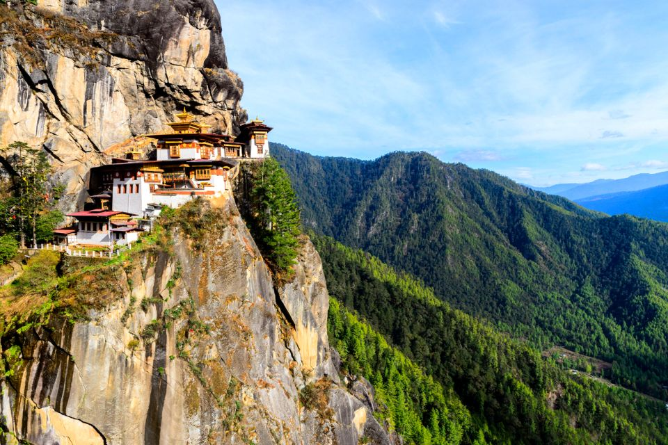 Le monastère de Taktshang , L'ermitage de Taktsang , Bhoutan