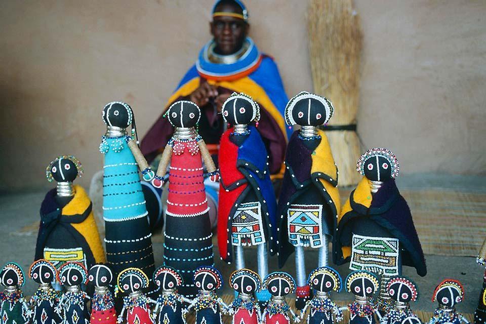 La artesanía y el arte contemporáneo , Exposiciones sudafricanas , Sudáfrica