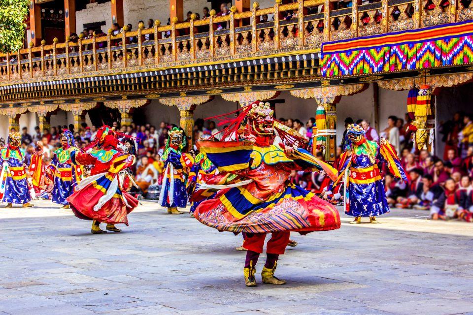 Les fêtes religieuses, punakha, punakha serdar, bhoutan, asie, fête, célébration, dzong
