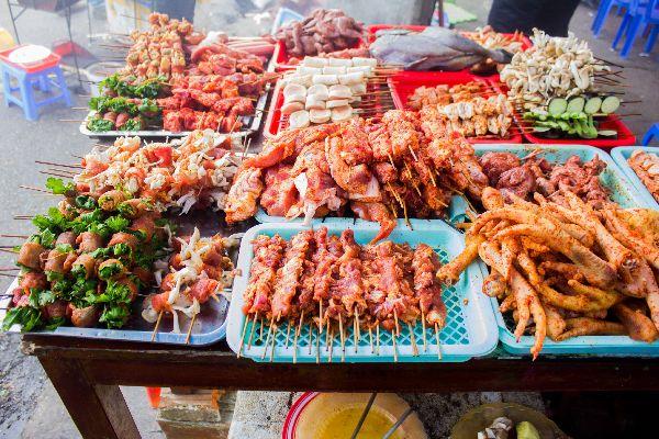 L'influenza cinese, le marionette , La cucina , Vietnam