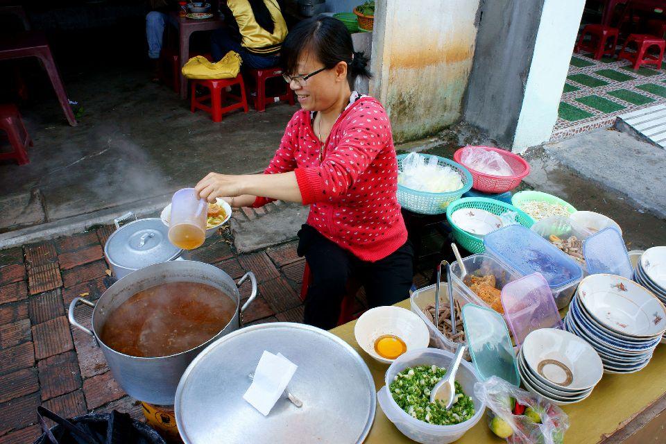 La influencia china, las marionetas , Comer en Vietnam , Vietnam
