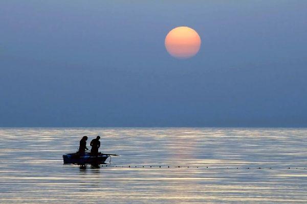 Die Kerkenna-Inseln , Tunesien