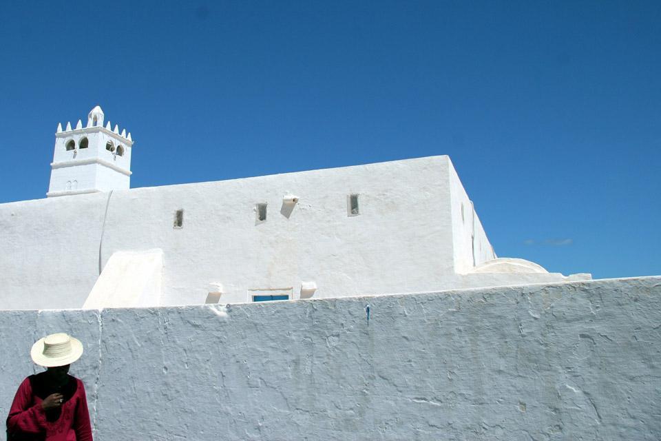 Djerba island , The mosque of Sidi-Jmour , Tunisia