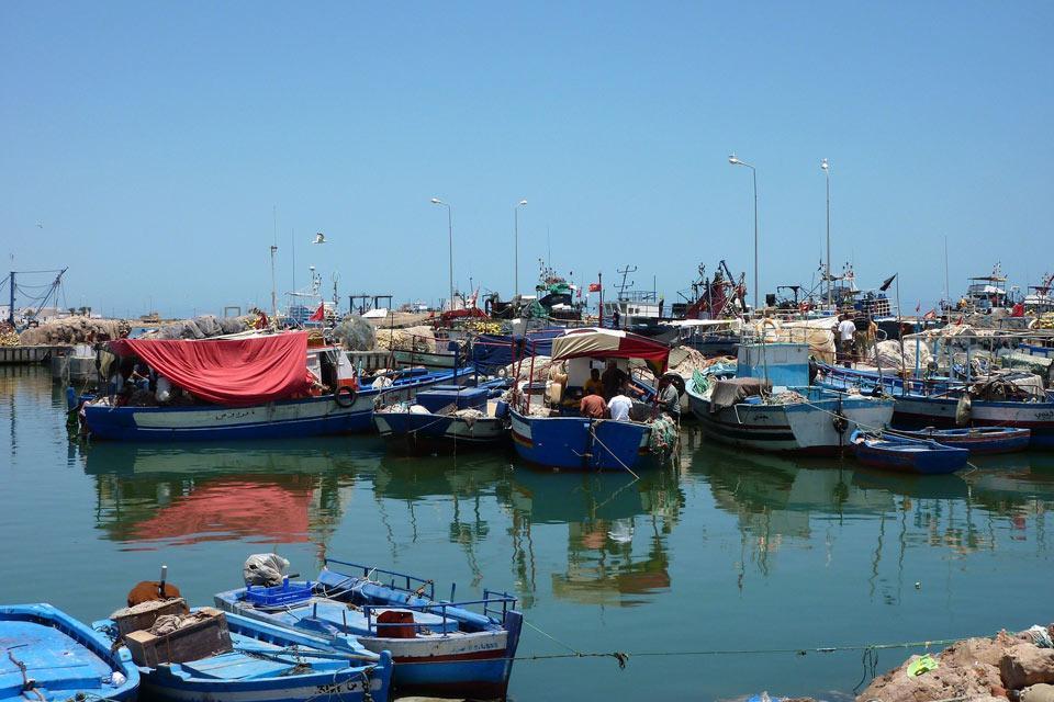Djerba island , Djerba's port , Tunisia
