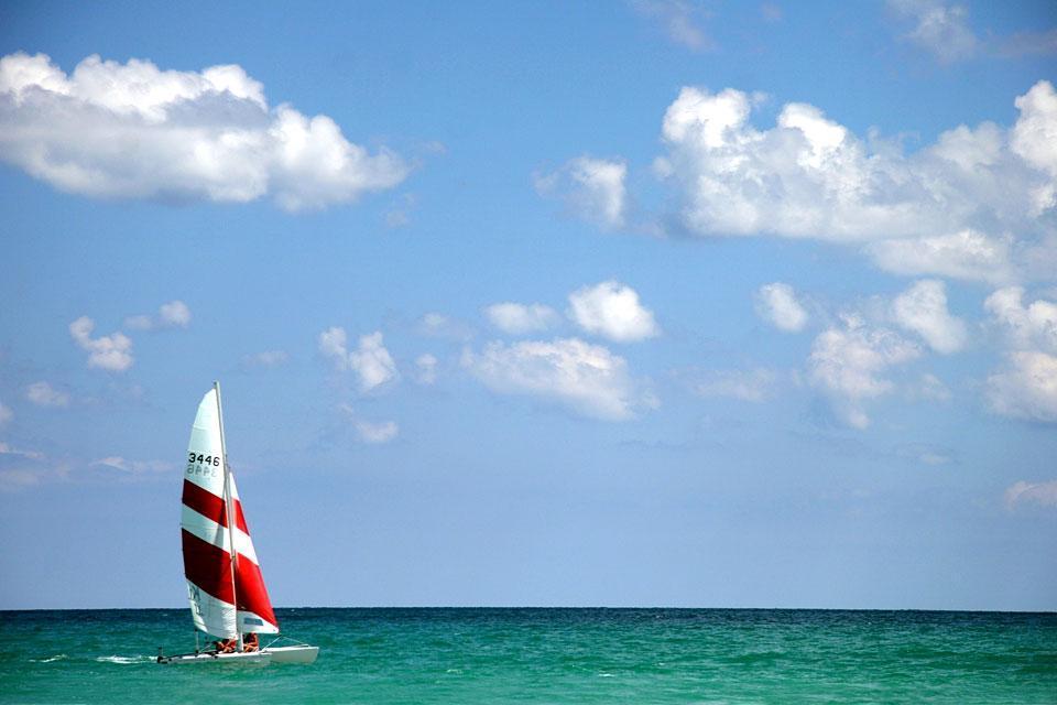 Djerba island , Sailing in Djerba , Tunisia