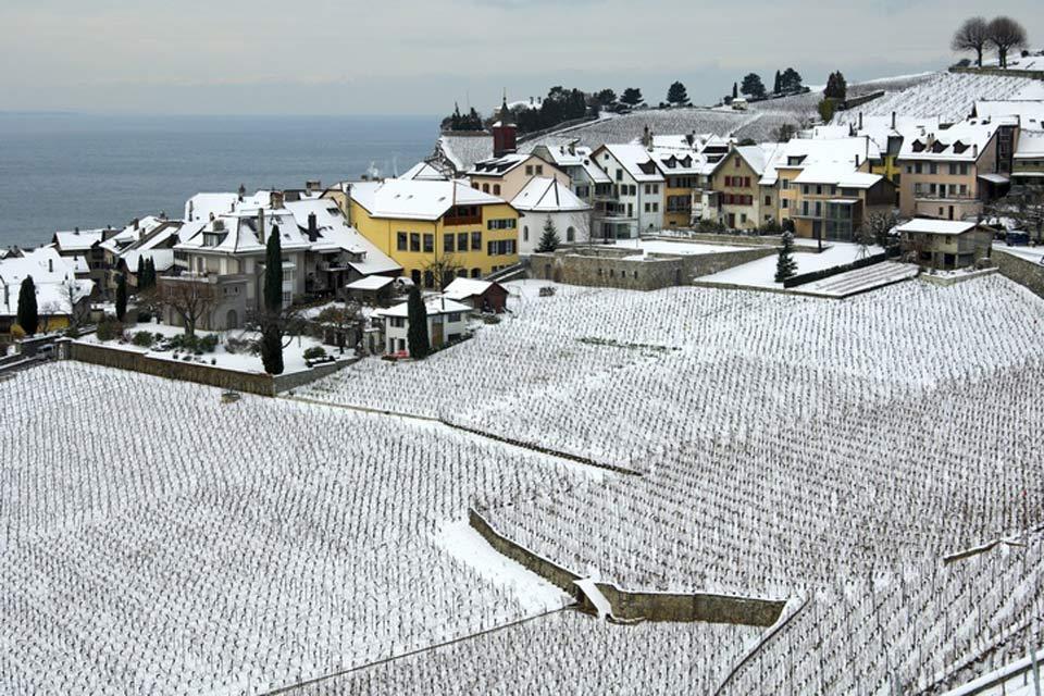 Der Kanton Waadt und die Region des Genfer Sees , Der Kanton unter der Schneedecke , Schweiz