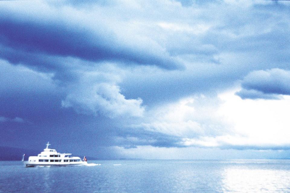 Der Kanton Waadt und die Region des Genfer Sees , Spazierfahrt auf dem Genfer See , Schweiz