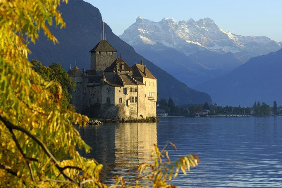Der Kanton Waadt und die Region des Genfer Sees , Der Genfer See , Schweiz