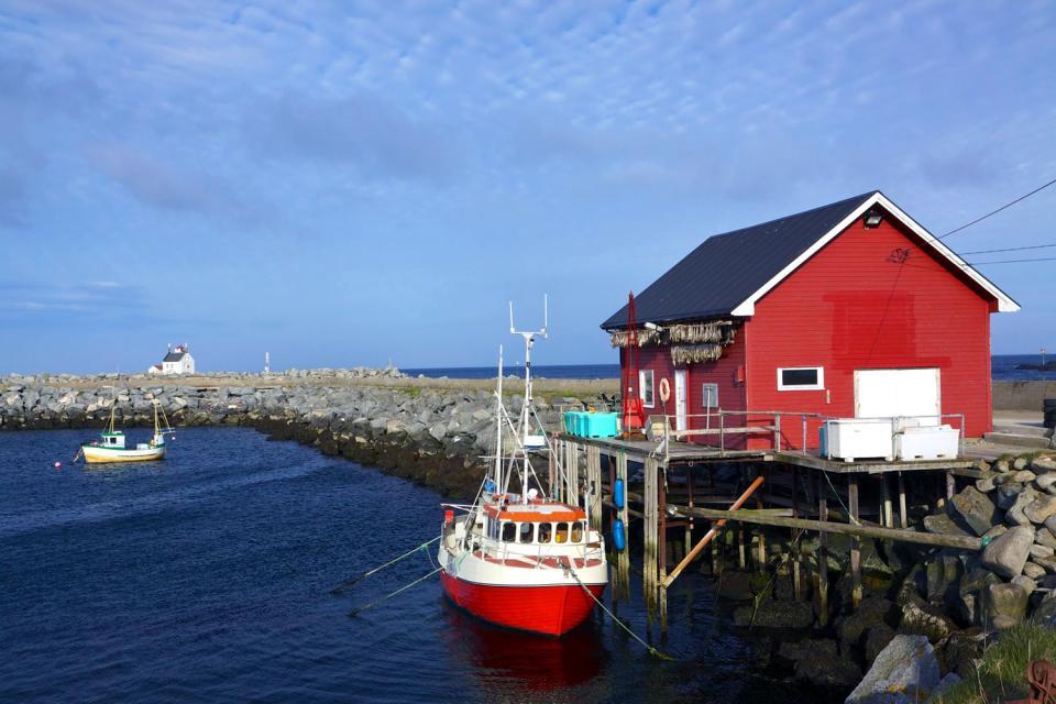 Die Badeorte im Süden des Landes , Norwegen