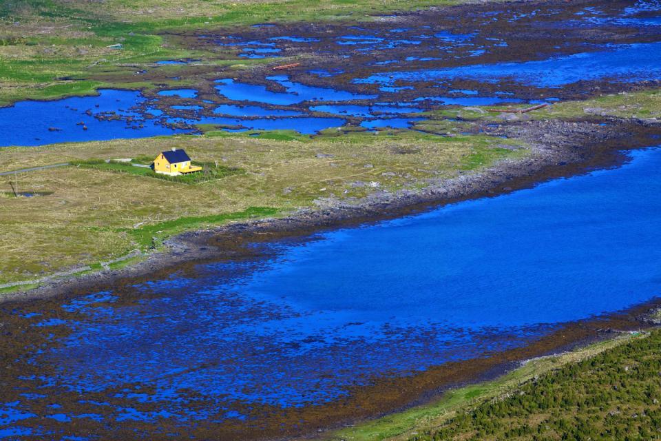 Die Badeorte im Süden des Landes , Ortschaft im Süden Norwegens. , Norwegen