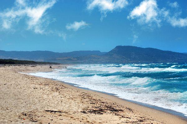 Der Golf von Asinara , Isola Rossa , Italien