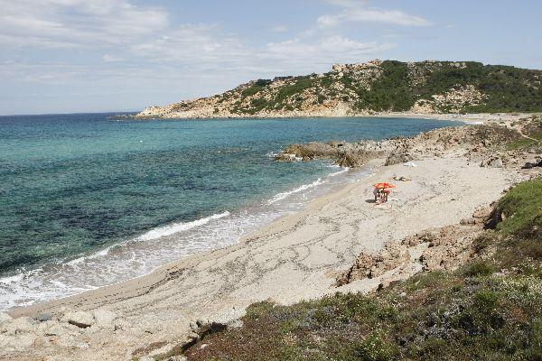 Der Golf von Asinara , Strand des Golfs von Asinara , Italien