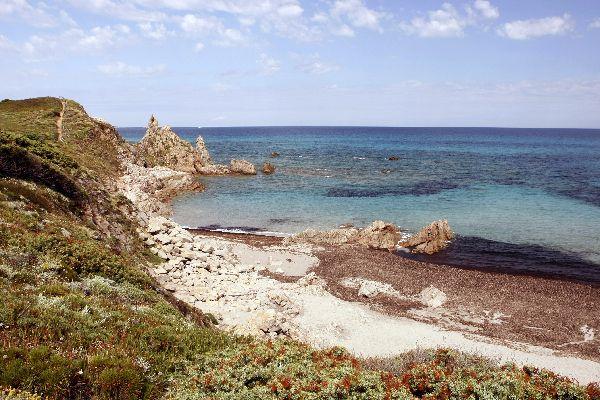 Der Golf von Asinara , Unberührtes Sardinien , Italien