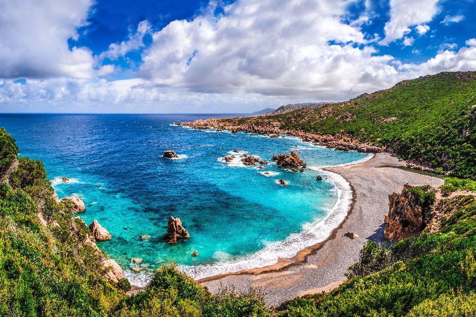 La Costa Smeralda , Golfo de Asinara , Italia